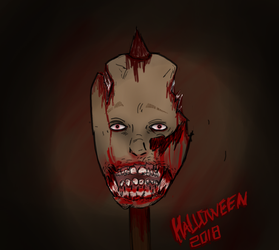 Halloween 2018 [gore] by BackFromHell666