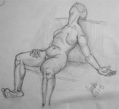 Anatomy sketch no6 by thesilentsidhe