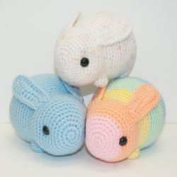 Baby Bunnies by Heartstringcrochet
