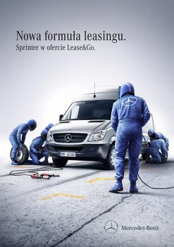 Mercedes Benz, Lease and Go by PionierUK