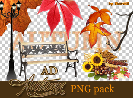 Autumn PNG pack by Sharah11