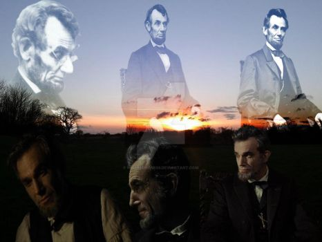 Abraham Lincoln Tribute 1809 - 1865 by MissRedRose03