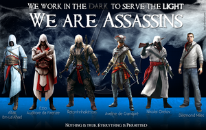 Assassin's Creed by mch8