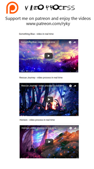 3 NEW VIDEOS - process in REAL time! by ryky