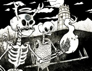 Skeleton Scavengers by Papposilenos