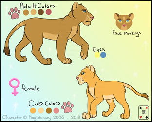 Almasi Ref Sheet by TheRealBlackLion