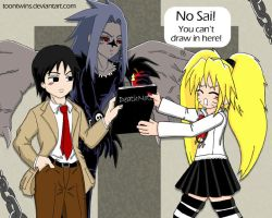 Playing Death Note by ToonTwins