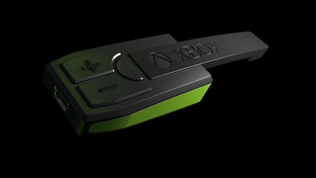 XBOX One wireless headset concept WIP 3 by all-one-line