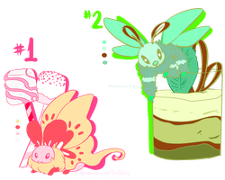 Adoptable: Dessert Moths Auction CLOSED by sIurpuff