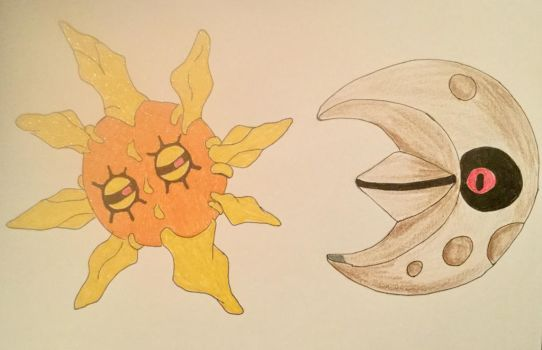 Sun and Moon by ranchlamb