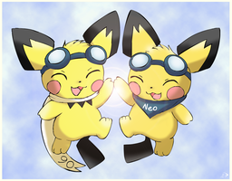 Pichu twins are back!
