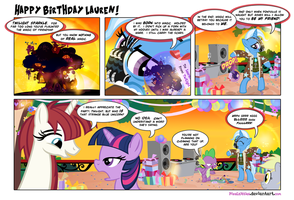 Happy Birthday Lauren! by PixelKitties