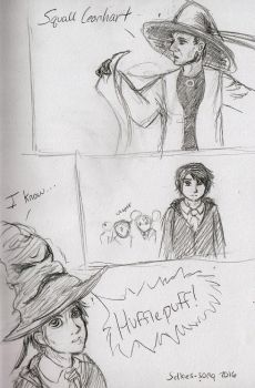 Squall's a Hufflepuff by selkies-song