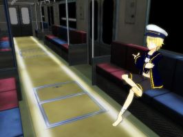 mmd pl2 subway stage by Len11999