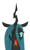 Queen Chrysalis' wet mouth (and tongue) by emu34b