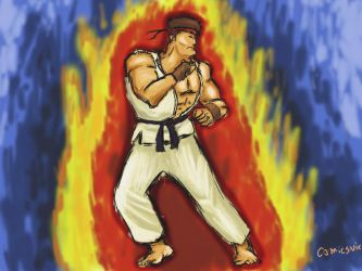 Street Fighter Ryu Wallpaper by ComicsNix