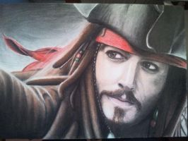 Captain Jack Sparrow by Lifadottir