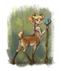 Deertaur by sans-art