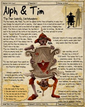 Labyrinth Guide - Alph + Tim by Chaotica-I