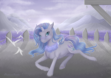Of Lavender and Mist by PlatinumFeather2002
