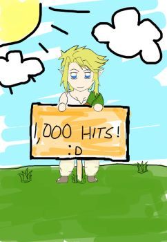 Thank you for the 1,000 hits by Nioki-chan