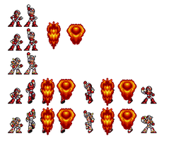 X4 Rising Fire in 16 bit by DanmanX5792
