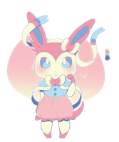 Sylveon - Sylveon by MushyPillows