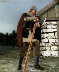 Viking Age Warrior by tigerfaceswe