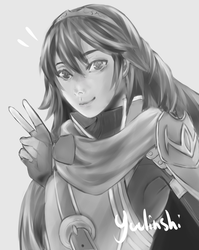 Lucina semi-realistic by Yuulinshi