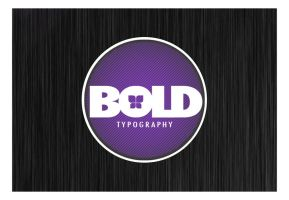 Bold Typography by Envy07
