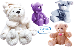 Sweet  teddies - PNG by lifeblue