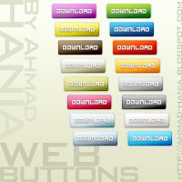 Web Buttons by ahmadhania