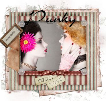 Girl Love Scrap Tag by Punky99