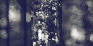Triptych Dreams Bokeh Stock by gearspec