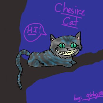 Chesire Cat by Girlyx100
