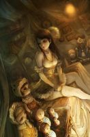 dolls room by tahra