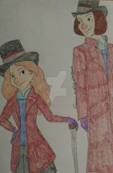 Veruca and Willy Wonka -- Request by faith--trust--dust