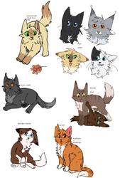 kittens by ArualMeow