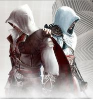 Ezio and Altair by Butterfly386