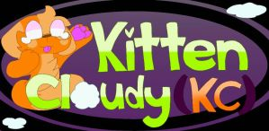 New water mark for my channel QwQ by Kittencloudy4u