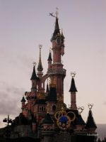 Disneyland Paris Castle by MelissaBalkenohl