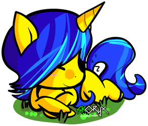 Comet Tail sleeping *Request* by ULTRADJ4EVER