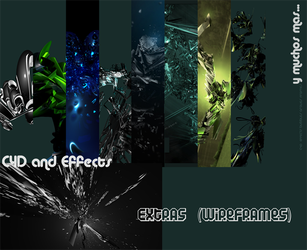 Pack C4Ds and c4d effects by luquituxxx