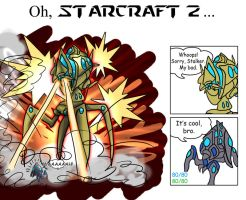 Oh, Starcraft 2... by Nine-Tailed-Fox