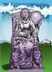 Cybele, the Magna Mater, Mother of the Gods by LauraSeabrook