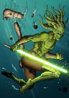 Kit Fisto by forcecrush