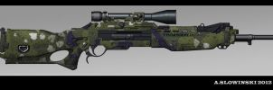 T and K CCC Thornweld M 2168-44 Sniper Rifle by BlackDonner