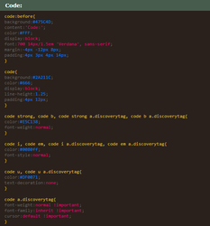 Prettified Code (Snippet) by nocturnenebula