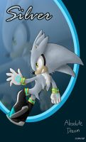 Silver the hedgehog by AbsoluteDream