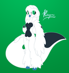 SimpleRef::Rayne.Anthro: by Rayne-Is-Butts
